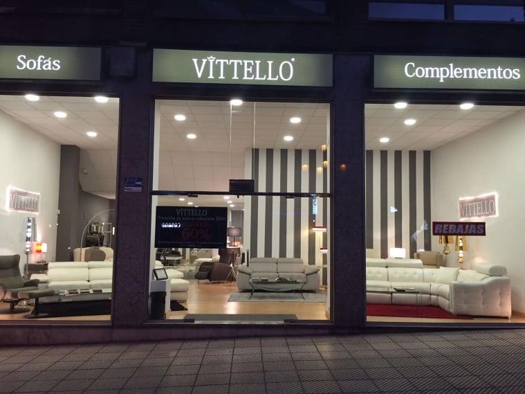 Tienda de sofas Vittello Asturias y Valencia